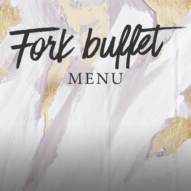 Fork buffet menu at The Bulls Head