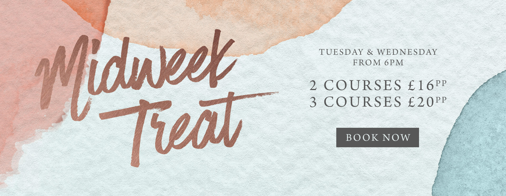 Midweek treat at The Bulls Head - Book now